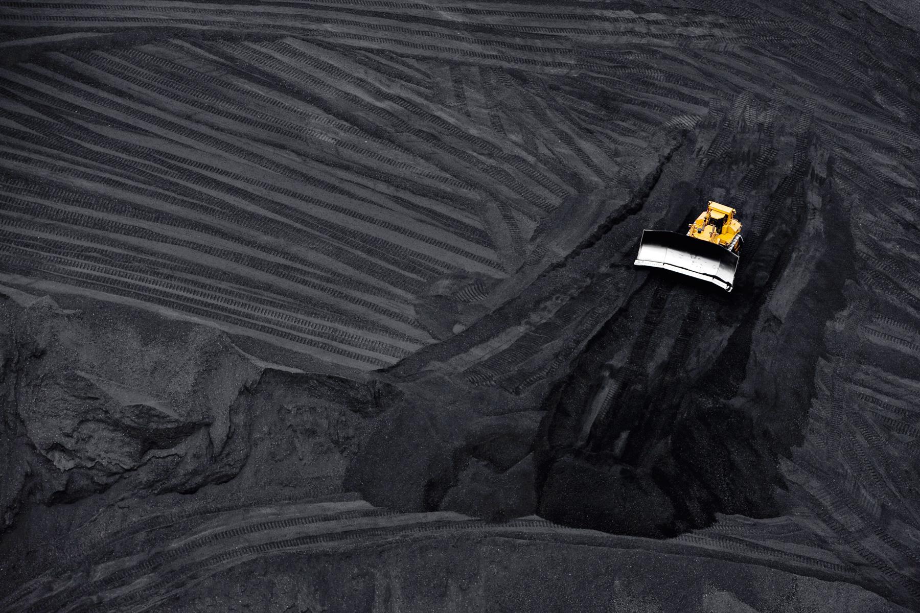 Mine de charbon à ciel ouvert, Arizona, Etats-Unis