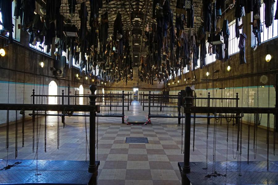 Salle des pendus du puits Couriot