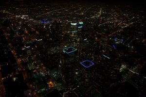 Les lumières de Los Angeles (Californie), de nuit © Yann Arthus-Bertrand
