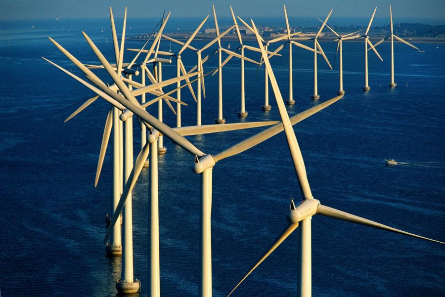Ferme éolienne offshore au large de Copenhague