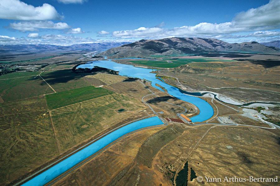 Centrale hydroélectrique en Nouvelle-Zélande