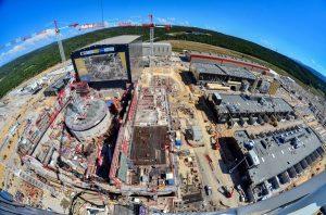 Vue panoramique du chantier ITER en 2018 © ITER