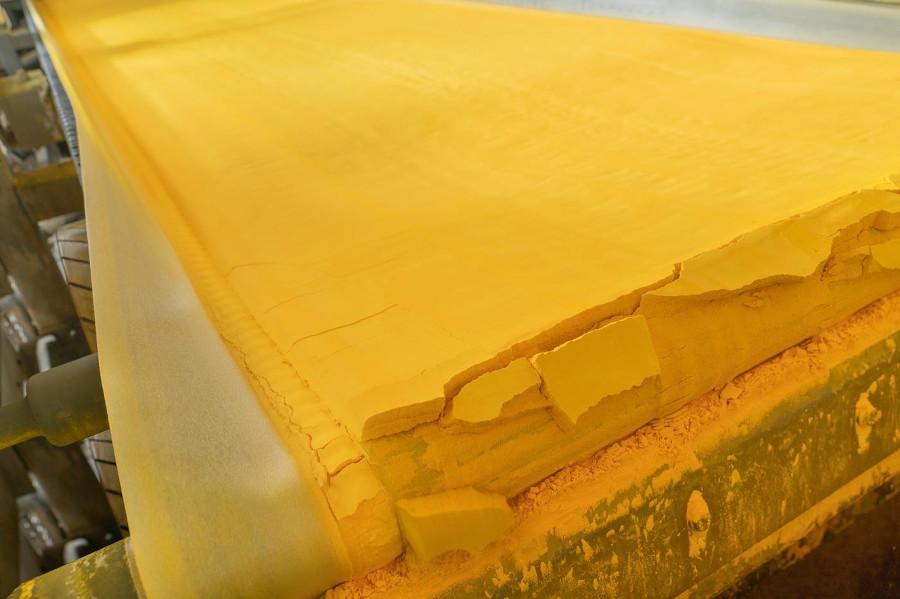 Yellow cake au Kazakhstan © Orano