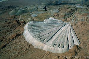 Mine de cuivre à ciel ouvert au Chili