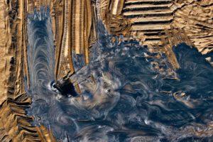 Enfouissement de résidus pétroliers issus de l'exploitation des sables bitumineux
