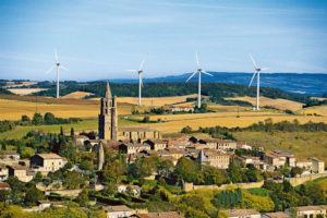 La centrale éolienne d'Avignonet Lauragais, en Haute-Garonne © Yann Arthus-Bertrand