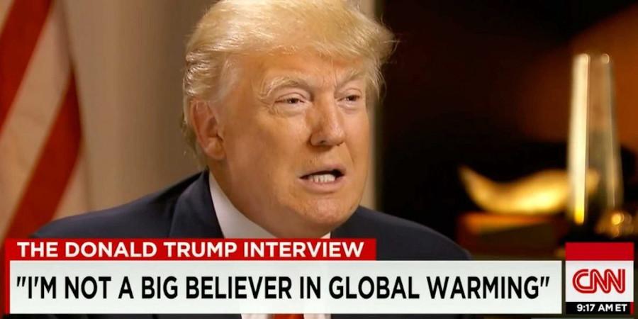 « Je ne crois pas vraiment au changement climatique »