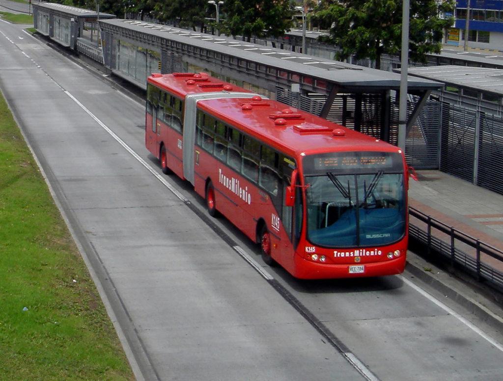 Le Transmilenio à Bogota