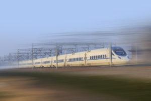 Train à grand vitesse